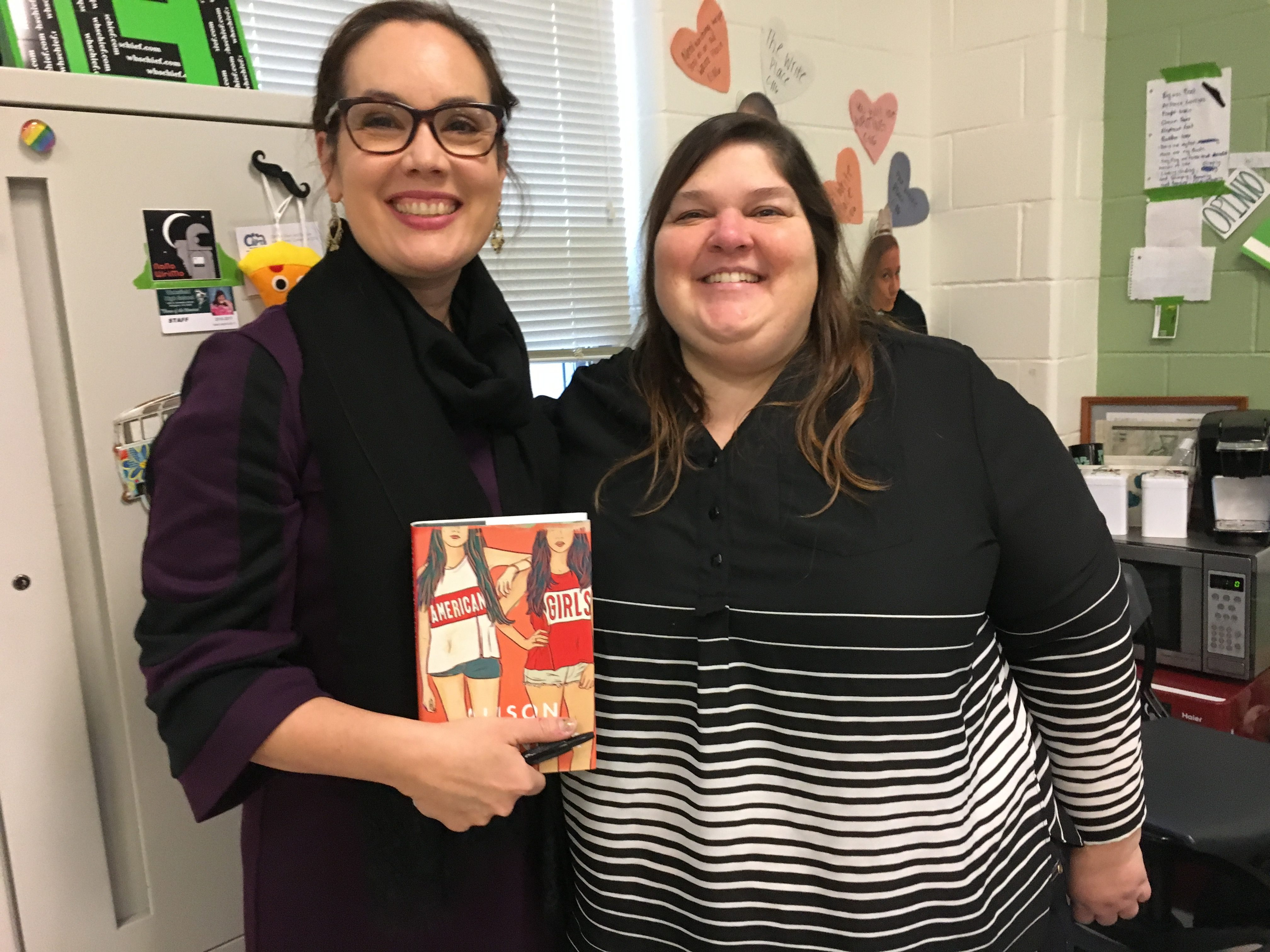 Wakefield Grad Alison Umminger Talks About Her Book American Girls