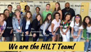 HHILT Department 2018-2019