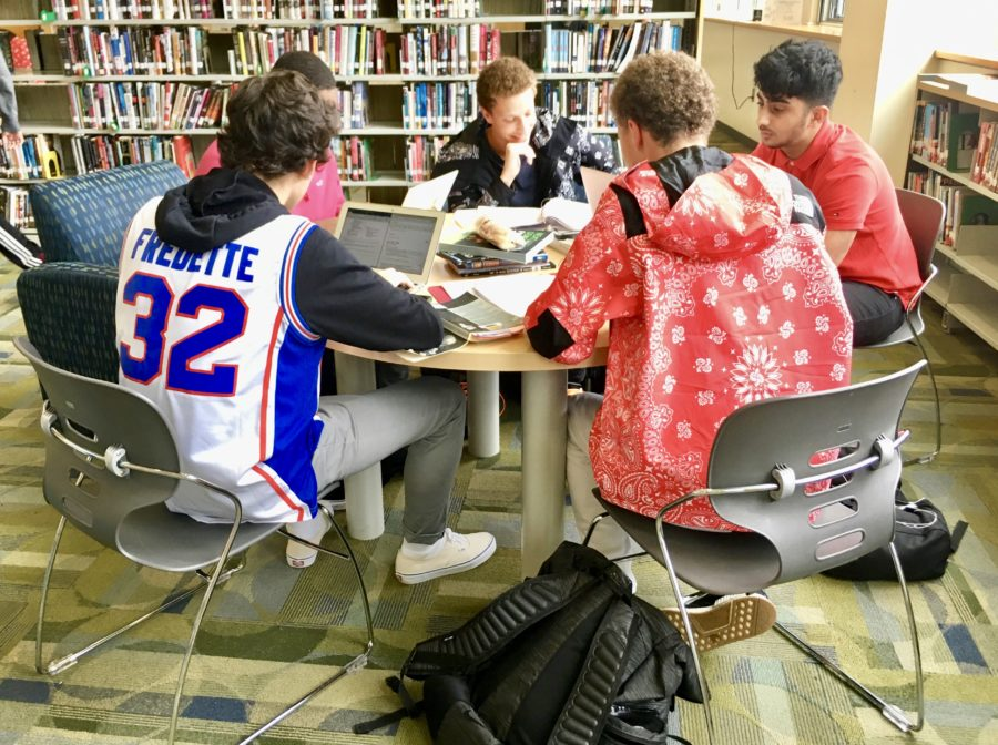 Rigor - Students in the library