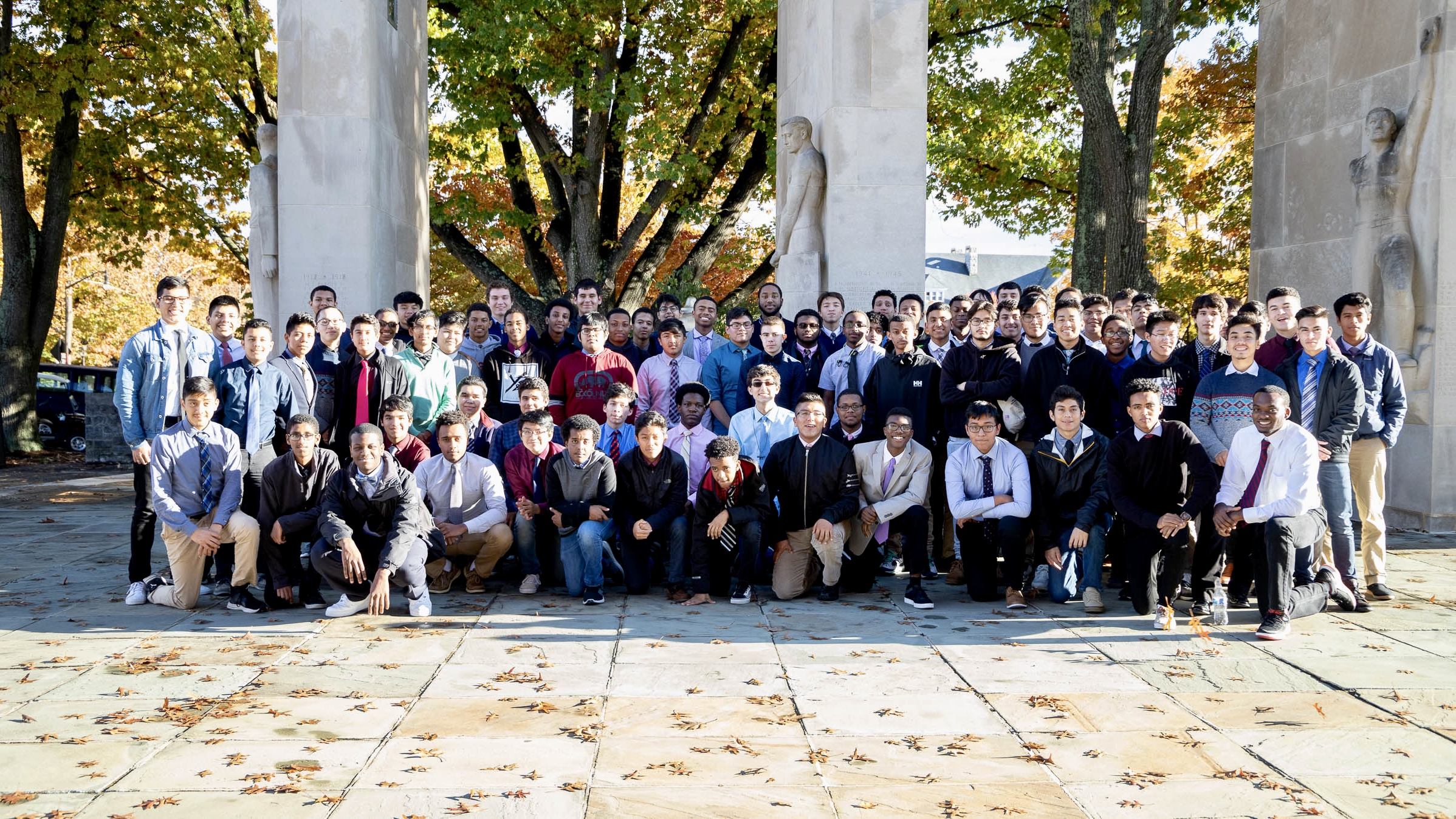 Be All In: Cohort Visits Local Universities