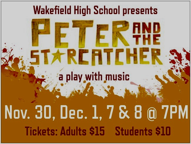 Peter and the Starcatcher: Nov. 30, Dec. 1, 7 & 8 @7pm