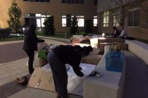 Night in a Box to support homelessness