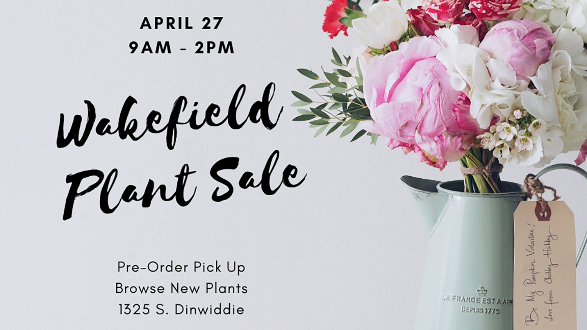 PTSA Plant Sale- Preorder pick-up/Browse New Plants
