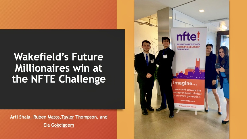 Entrepreneurship Students Win at NFTE