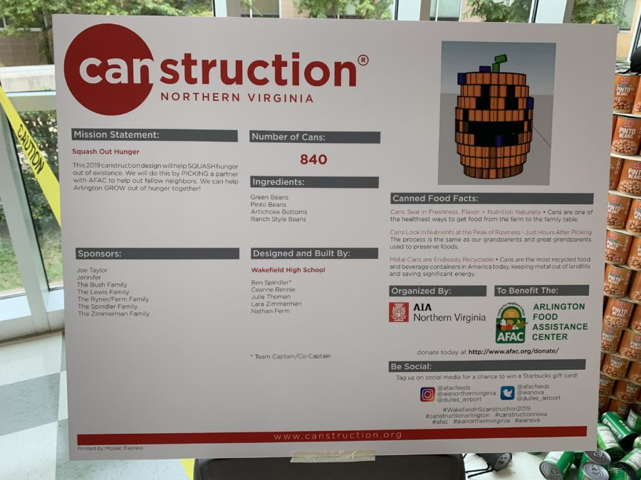 Canstruction Project 2019