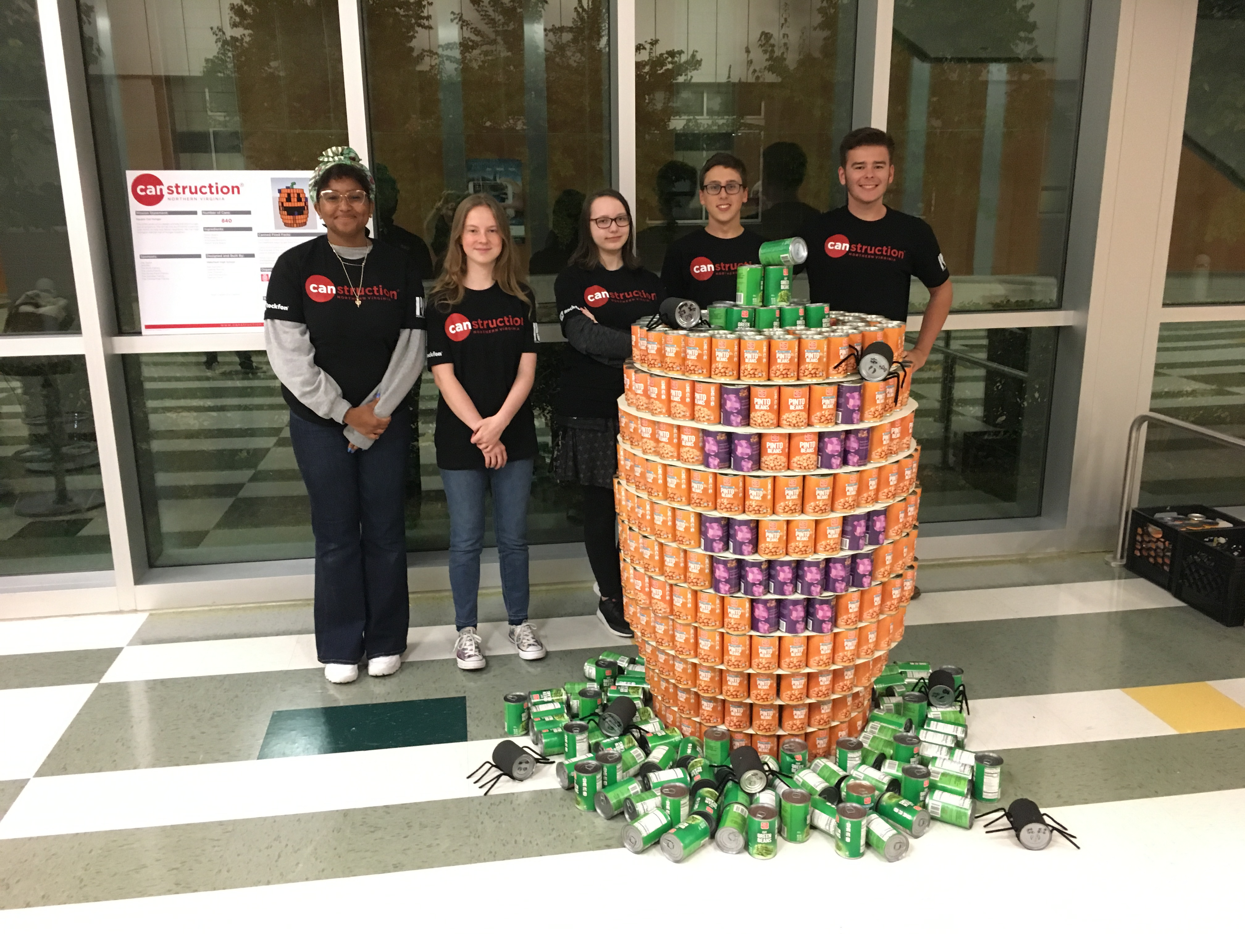Architecture Students Squash Out Hunger!