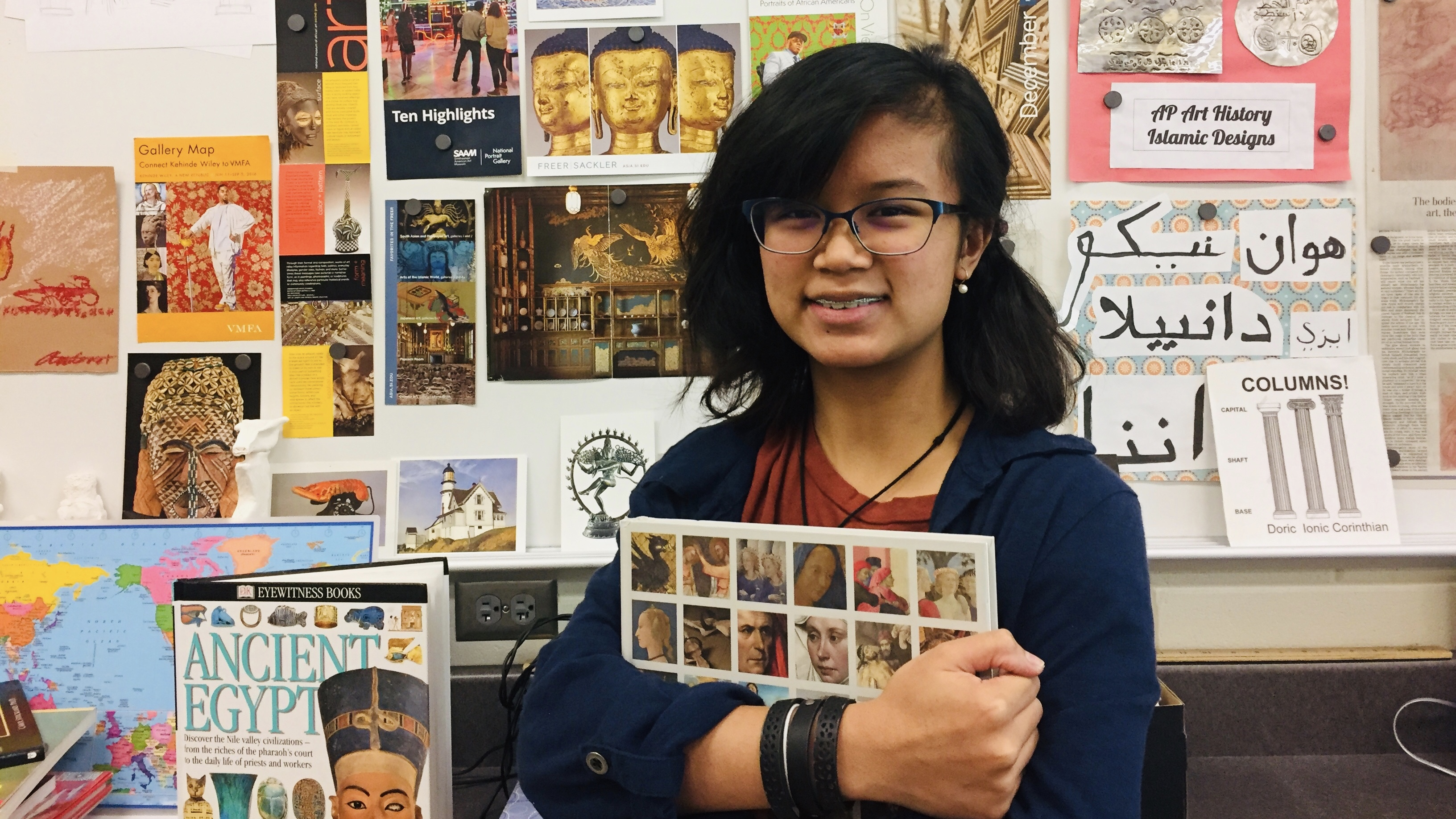 Senior Andrea Gaoat Accepted to National Gallery Museum Makers Program