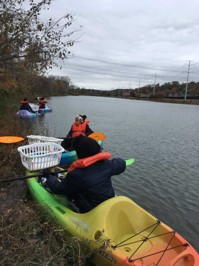 Ecology Club clean-up 2019