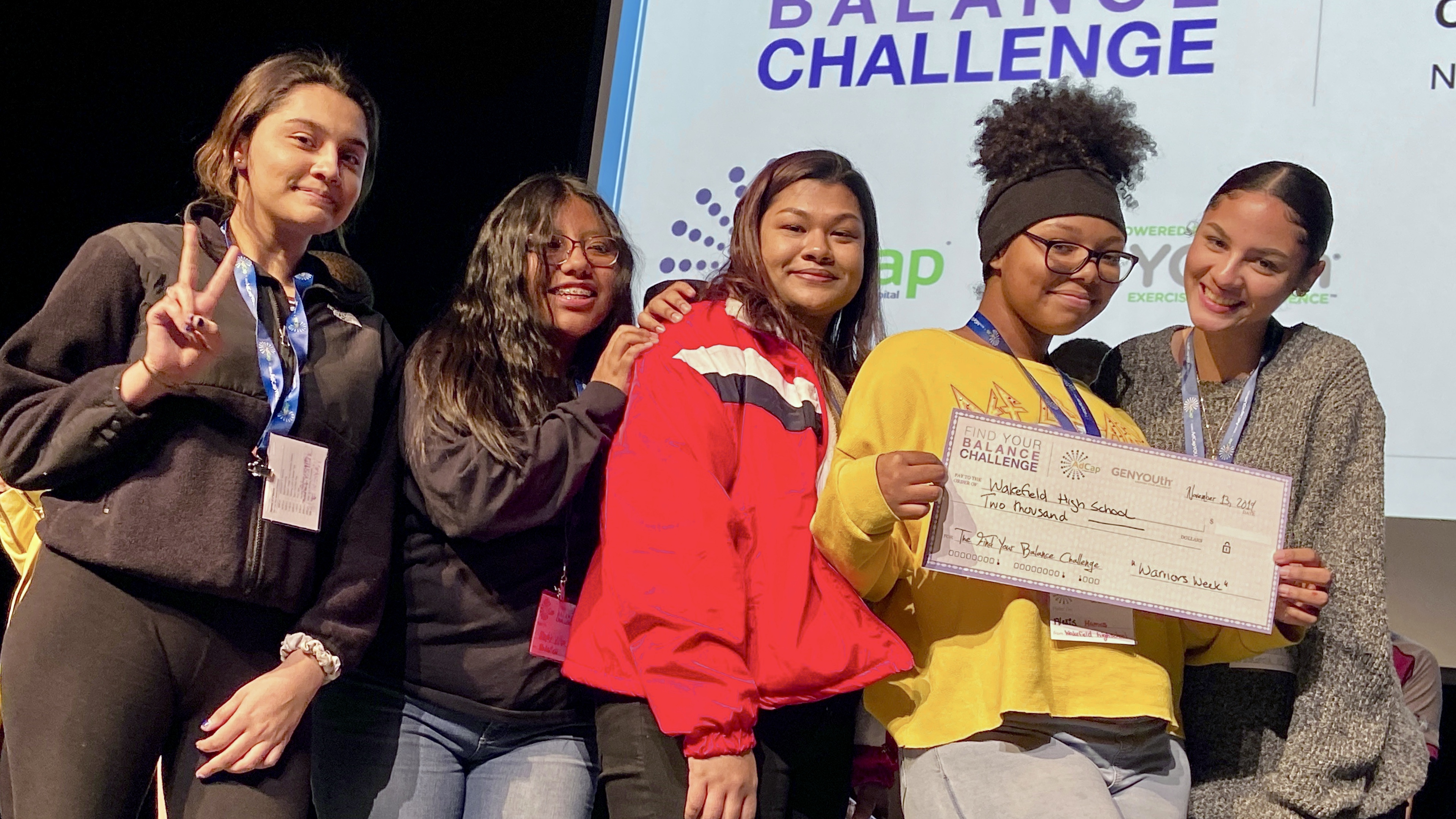 Wakefield Seniors Win $2000 in the ADCAP Find Your Balance Challenge