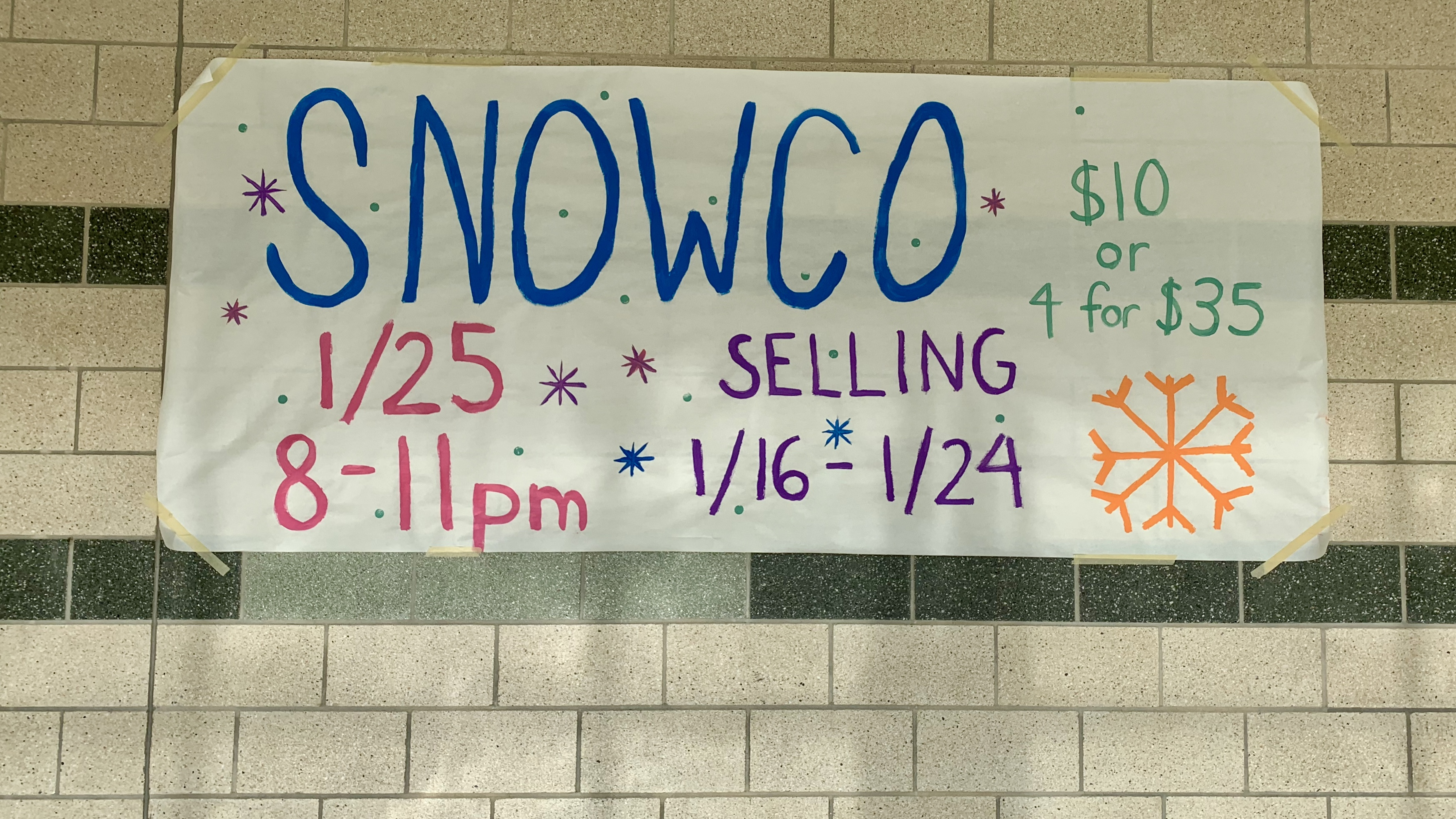 SNOWCO Winter Dance