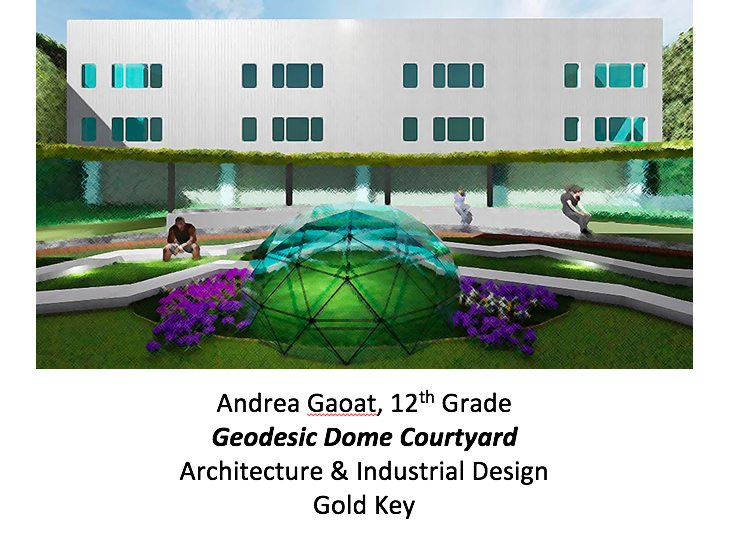 Geodesic Dome Courtyard
