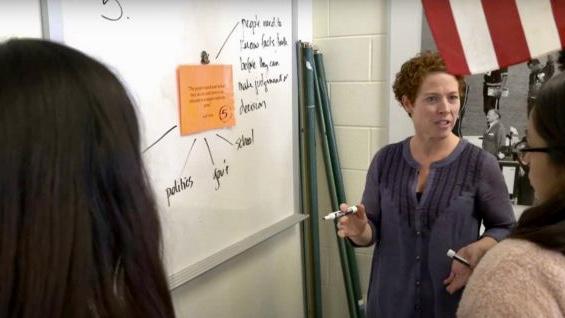 Wakefield Teacher Honored for News Literacy Efforts
