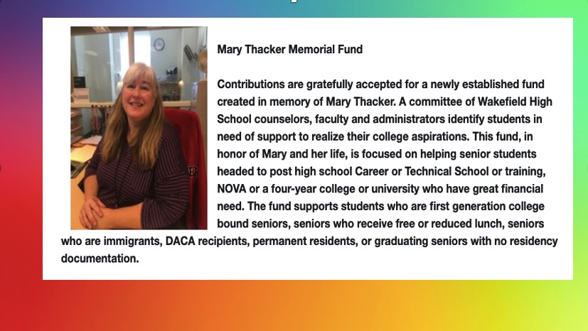 Mary Thacker Memorial Fund